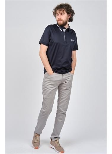 Arslanlı Arslanlı Erkek Cep Detaylı Polo Yaka T-Shirt  Lacivert